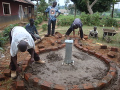 Ebumamu pri.school-re-construction of well pad.