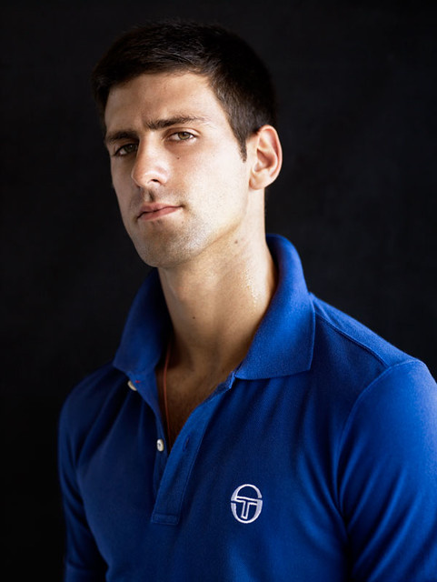 Novak Djokovic's Tacchini photoshoot