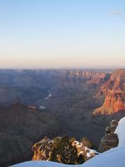 A shot of the RED RIVER (~*(ThE D@Y dRe@mEr)*~ in USA) Tags: winter arizona snow river colorado grandcanyon
