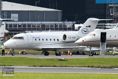 LZ-YUP - 5602 - Air Lazur - Canadair CL-600-2B16 Challenger 604 - 100909 - Luton - Steven Gray - IMG_9194