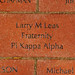 Larry M Leas Fraternity Pi Kappa Alpha