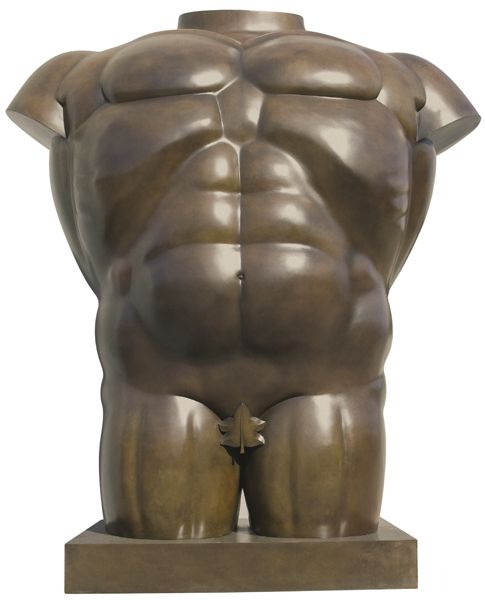 Fernando Botero, Male Torso, 1992, Lot 184