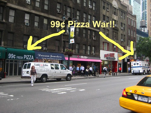 99¢ Pizza War