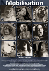 """affiche casting DDC """"Les Sources Occultes"""""""
