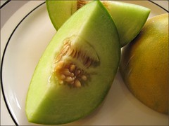 Miniature honeydew melon