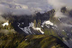 Sahale View (David M. Cobb) Tags: usa mountains misty washington stormy glaciers wa peaks northcascadesnationalpark sahale