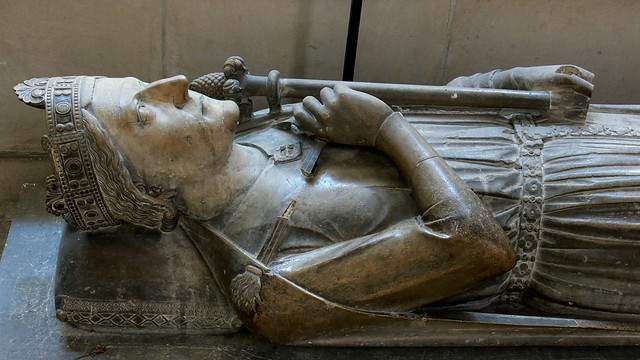 king Richard I tomb Rouen cathedral france