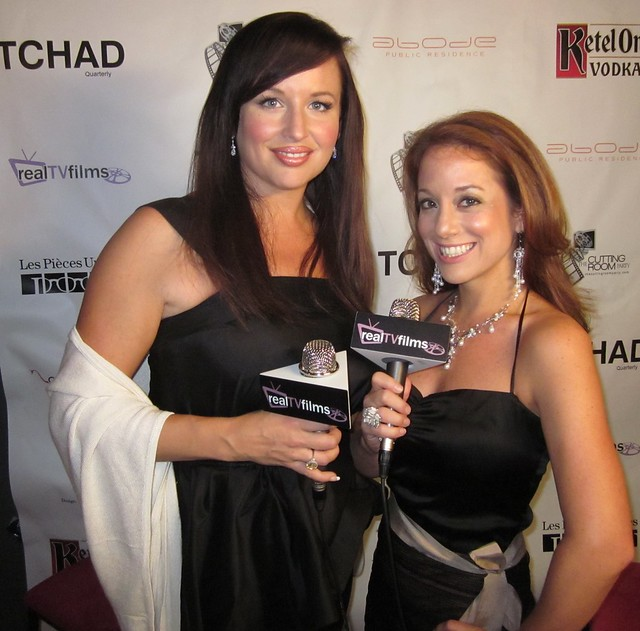 April Telek, Kelly Calabrese, Amazon Falls, RealTVfilms Social Media Lounge