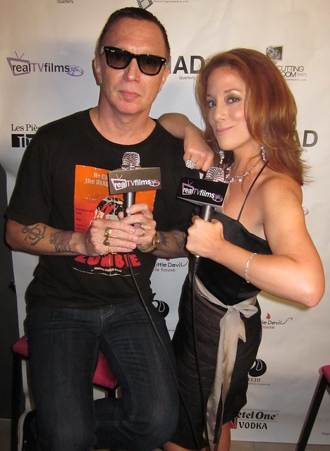 "Bruce LaBruce, Director, Writer ""LA Zombie"" Official TIFF Selection, Kelly Calabrese"