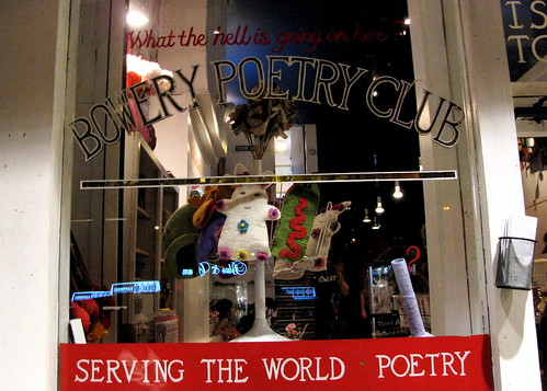 Bowery Poetry What the Hell?