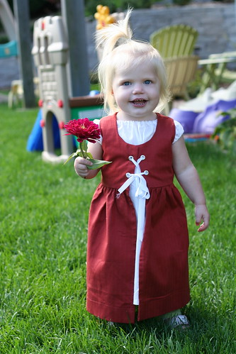 The littlest wench!