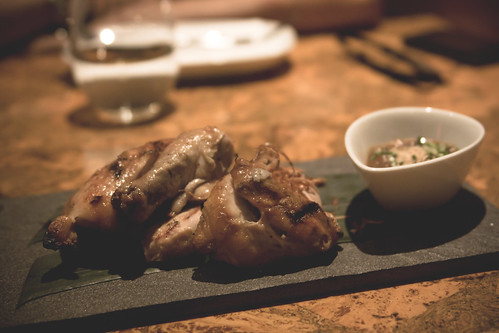 gai yang - Grilled Cornish Hen