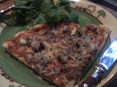 pizza de sardinha receita