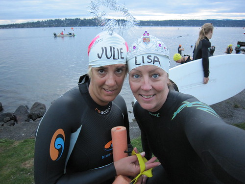 Swim Sisters!!!  Trek Womens Triatlhon 2010 005
