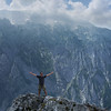 Getting that true depth hiking feeling in Germany (B℮n) Tags: germany bavaria freedom berchtesgaden topf50 yeah hiking mountainclimbing vista gorge rockymountains eaglesnest kehlsteinhaus topf100 kingofthemountain standingtall ontopoftheworld gipfelkreuz königssee panoramicview ididit bavarianalps kehlstein 100faves 50faves göll hohergöll snowinthesummer feelingontopoftheworld southofgermany kehlsteinmountain vertoramic whodares scenicdestinations 1834m hohergöll2522m snowonthemountain2522m mountaintopcross sappensteig ofenerboden berchtesgadenvalley viewonhohergöll