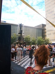 Main stage and fountains (Coasterville) Tags: oktoberfest zinzinnati
