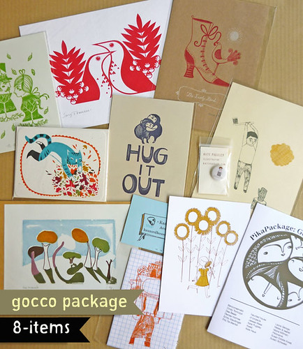 The Gocco PikaPackage loot!