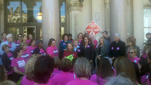 Women's Healthcare Rally - Statehouse 9/20/10