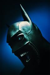 Super-fuckin-hero (Julian Holtom) Tags: mask gimp rubber superhero batman latex darkknight arkhamasylum antihe