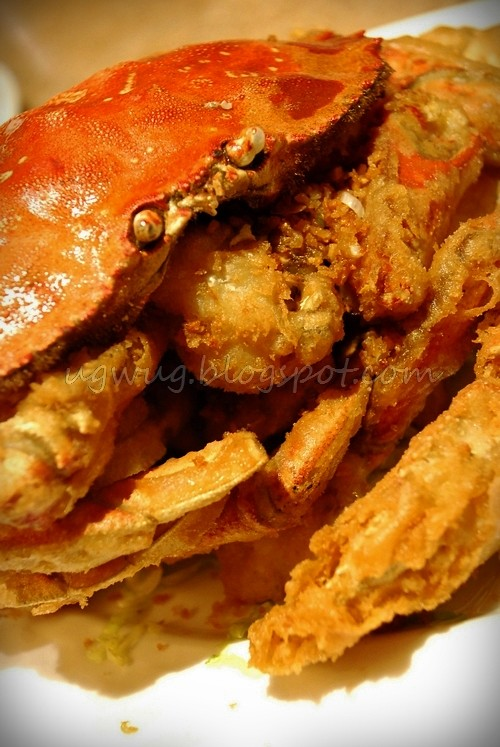 Salt & Pepper Crab - Signature Dish