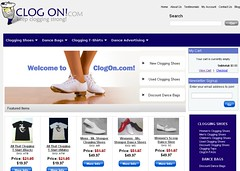 clogging shoes website