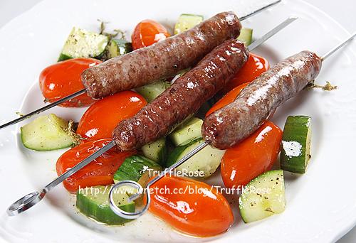 烤伊比利豬香腸-100921