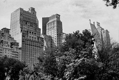Central Park South (Rotdenken (Jules Rigobert)) Tags: park city nyc blackandwhite bw usa ny newyork building america photo flickr foto noiretblanc centralpark manhattan ciudad nb stadt sw amerika ville immeuble citta argentique analogic 21stcentury amrique tatsunis schwarzundweis xxiesicle rotdenken julesrigobert