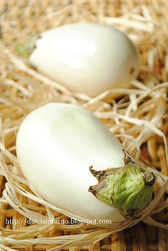 Melanzane Bianche-White Eggplants