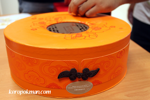 Mooncakes - Fairmont Hotel