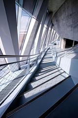 ZigZag (Bulsti) Tags: city urban museum mercedes stair stuttgart steel minimal stadt mercedesbenz zack zigzag glas beton stahl downstair zickzack zick mercedesbenzmuseum herunter stugi stuffen