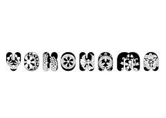 Yokohama (Andreas Leonidou) Tags: art japan print asian typography japanese tokyo design graphicdesign sapporo east nagoya font type letter osaka yokohama typo mania typeface typographic printdesign andreasleonidou
