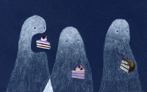 ghosts & cake (small)