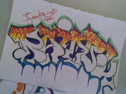 abecedario en graffiti. el abecedario en graffiti. Abecedario Graffiti (Graffiti