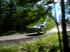 Jari-Matti Latvala - Ford Focus RS WRC 09 (Mr.Awenec) Tags: ford suomi finland 1 jump focus rally ss 8 09 wrc oil friday fin rs 2010 miikka anttila neste jarimatti latvala myhinp