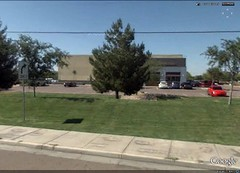 Walmart Marketside in suburban Arizona (via Google Earth)