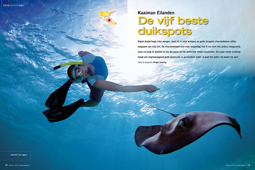 Cayman Aggressor for Duikmagazine, pages 1&2