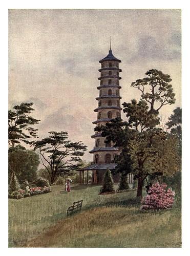 017-La pagoda-Kew gardens 1908- Martin T. Mower