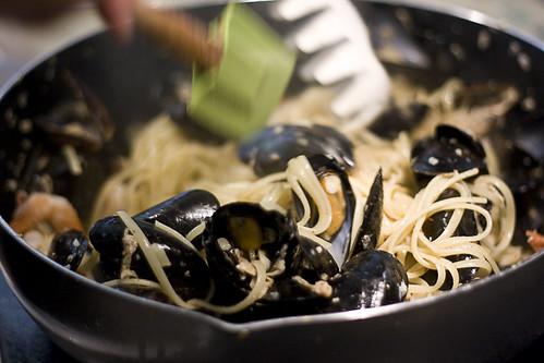 Andrew's Seafood Pasta
