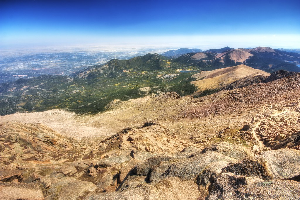 View East From Pike's Peak
