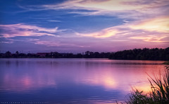 LSU Lakes at Sunset - Baton Rouge, LA (todd landry photography) Tags: lake reflection nikon louisiana university state lsu batonrouge hdr d90
