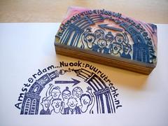 stempel (Gertie Jaquet) Tags: domtoren stamp commission stempel westertoren opdracht puuramsterdam puurutrecht puurevents
