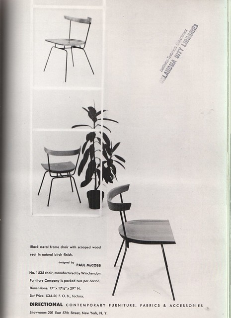 1951 Planner Group #1535 Chair