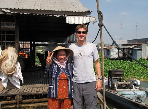Greg and Caman on Fish Farm - Greg Is A Bit Taller