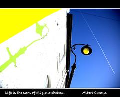 Brighton (Karina Oliveira Mansfield) Tags: shadow sky lamp wall lamppost ornate mrsrovingeye