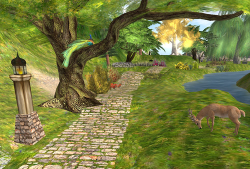 Julia Hathor's Lands in Inworldz
