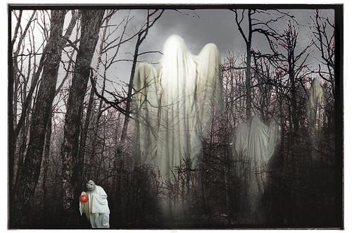 Hallowe'en #6 - Halloween greeting cards by bindlegrim aka Robert Aaron Wiley  (2004)