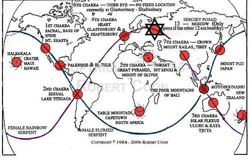 Los chakras de la Tierra - GAIA 002