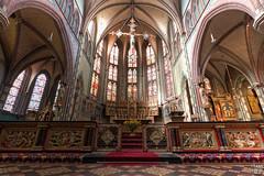 Sint-Jozefkathedraal Groningen (Frenklin) Tags: light holland church netherlands choir interior interieur thenetherlands churches lightning groningen 1020mm 1020 kerk hdr koor kerken bisdom sintjozefkathedraal groningenleeuwarden sintjozefcathedral