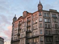 Evening in Warsaw (2) (Krzysztof D.) Tags: building architecture europa europe poland polska polen warsaw 1910s warszawa warschau architektura mokotów budynek mazowsze stolica mazowieckie placuniilubelskiej niebotyk