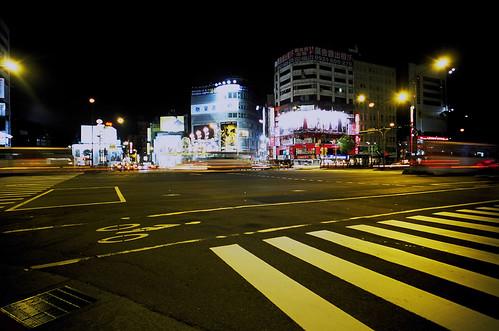 台湾の交差点